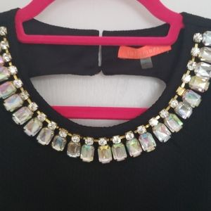 Great jeweled juniors blouse